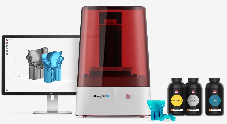 MoonRay D: High-Resolution Dental 3D Printer